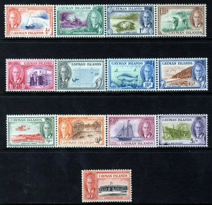 CAYMAN ISLANDS KG VI 1950 Complete Pictorial Set SG 135 to SG 147 MINT
