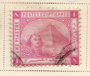 Egypt 1879 Early Issue Fine Used 1p. 324051