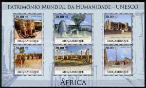 Mozambique 2010 UNESCO World Heritage Sites - Africa #1 p...