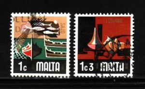 Malta 458-459 U Various