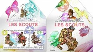 DJIBOUTI 2019 SCOUTS SCOUTISM [#190218]
