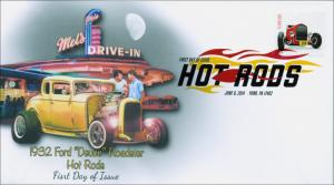 SC 4909, 2014 Hot Rods, Digital Color Postmark Postmark,  Item 14-084