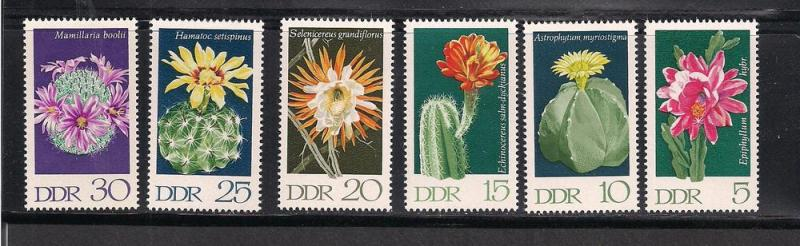 GERMANY - DDR SC# 1251-6 F-VF MNH 1970