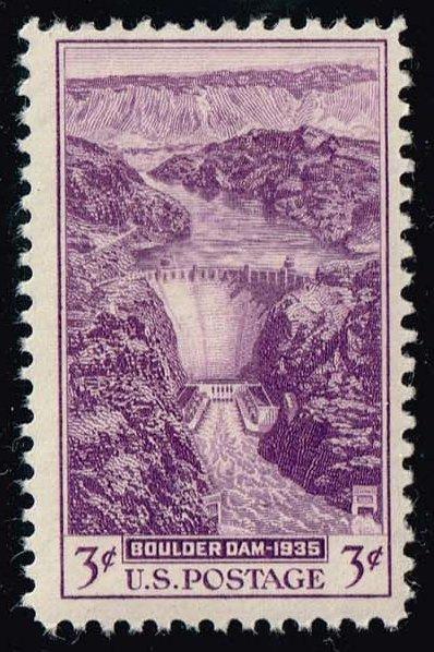 US #774 Boulder (Hoover) Dam; MNH (0.35)