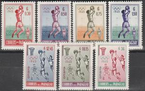 Paraguay #556-9, C262-4 MNH F-VF  (SU2013L)