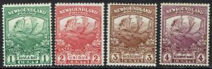 NEWFOUNDLAND 1919 CARIBOU 1C - 4C
