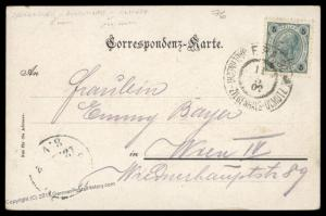 Austria 1902 Fahrendes Postamt FPA9 Altvatergebirge Goldstein Train Railwa 79340