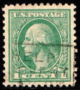 US STAMP #525 1918-20 1¢ Washington USED XFS SUPERB