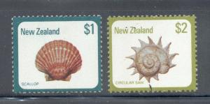 News Zealand Sc 696-7 1979 Seashells stamp set mint NH