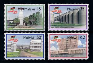 [76922] Malawi 1989 Independence Jubilee 4 Buildings  MNH