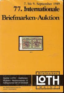 77. Loth-Briefmarken-Auktion: Internationale Briefmarkena...