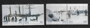 IRELAND, 1537A-1539A, MNH, ANTARCTIC EXPEDITION