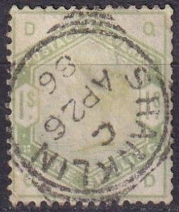 Great Britain #107 F-VF Used  CV $300.00