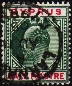 Cyprus. 1903 1/2pi S.G.50 Fine Used