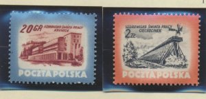 Poland Stamps Scott #608 To 611, Mint Hinged - Free U.S. Shipping, Free World...