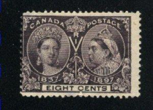 Canada #56   Mint   thin   PD