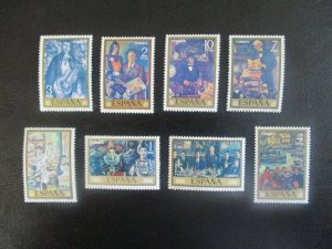 Spain #1704-11 Mint Never Hinged (N6T9) WDWPhilatelic
