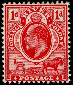SOUTH AFRICA - Orange Free State SG149, 1d scarlet, M MINT. Cat £11. WMK MULT CA