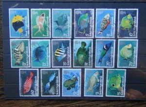 Virgin Islands 1975 Fish set to $5 Used