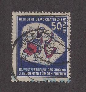 GERMANY - DDR SC# 88 F-VF U 1951