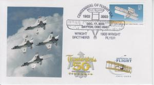 2003 First Flight Centennial Dayton Ohio Pictorial
