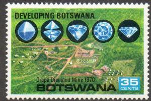 Botswana  Scott  61  MNH