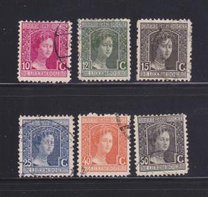 Luxembourg 97-99, 101, 105-106 U Grand Duchess Marie Adelaide (A)