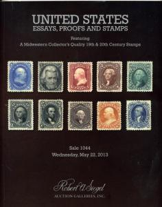 Siegal Sale of Choice US Essays,Proofs & Rare Mint US