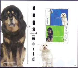 Saint Vincent and the Grenadines. 2010. Dogs. MNH.