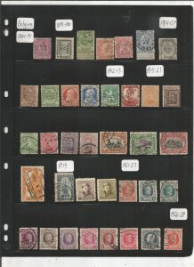 BELGIUM COLLECTION ON STOCK SHEET, MINT/USED