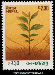 Nepal Scott 380 Mint never hinged.
