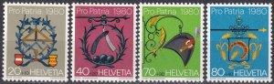 Switzerland #B471-4 MNH CV $3.25  (Z4605)