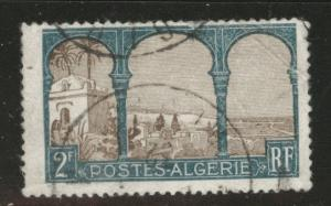 ALGERIA Scott 63 used creased stamp from 1926-1939 set