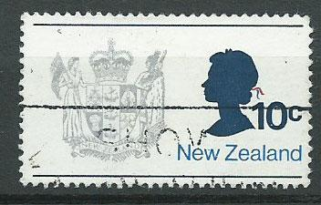 New Zealand SG 1016  VFU unwatermarked paper