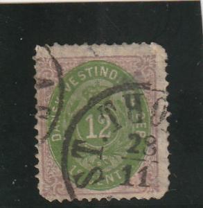 Danish West Indies  Scott#  11  Used