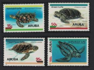 Aruba Turtles 4v 1995 MNH SG#168-171
