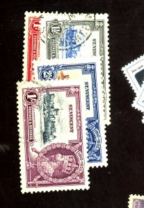 ST VINCENT #134-37 USED VF Cat $21