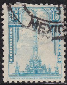 Mexico 713 Hinged Used 1934 Independence Monument
