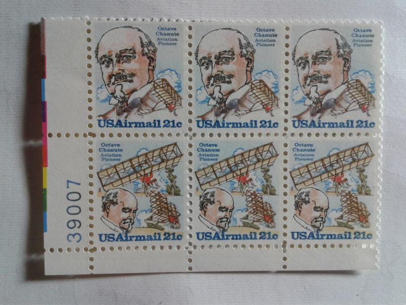 SCOTT # C 93-94 AIRMAIL PLATE BLOCK OF 6 !! MINT NEVER HINGED GEM !