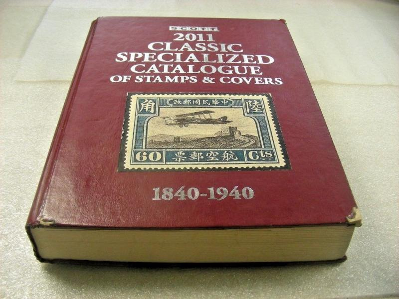 2011 SCOTT CLASSIC SPECIALIZED CATALOGUE of stamps & covers