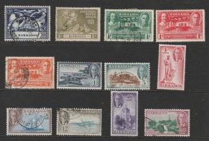 Barbados a small M&U lot of KGVI era