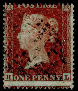 SG17 SPEC C1(3), 1d brick-red, SC16 DIE I, USED. Cat £50. HL
