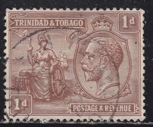 Trinidad & Tobago 22 Used 1922 Britannia & KGV