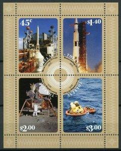 Tokelau 2019 MNH Apollo 11 Moon Landing 50th Anniv 4v M/S Space Stamps