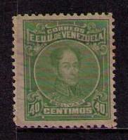 VENEZUELA Sc# 264 USED F Perf12 Simon Bolivar