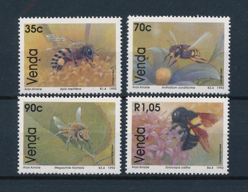 [60264] Venda 1992 Insects Insekten Insectes Bees MLH