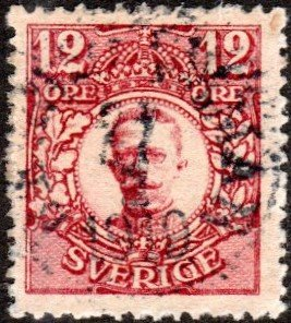 Sweden 81 - Used - 12o Gustaf V (1918)