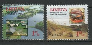 Lithuania 1999 CEPT Europa 2 MNH Stamps