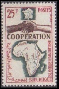1964 Mauritania 240 COOPERATION