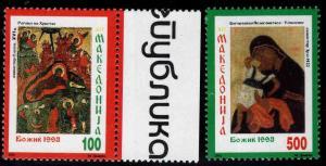 Macedonia Scott 3-4 MNH** stamp set